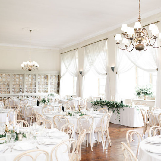The Ballroom, set for Dining