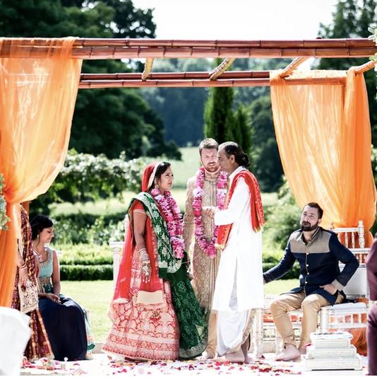 Hindu Ceremony in Walled Garden