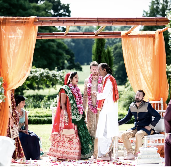 Hindu Ceremony in Walled Garden