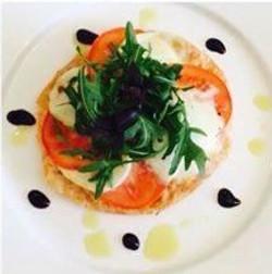 Mozzarella and Tomato Salad, with a Balsamic Glaze (Starter or Main)