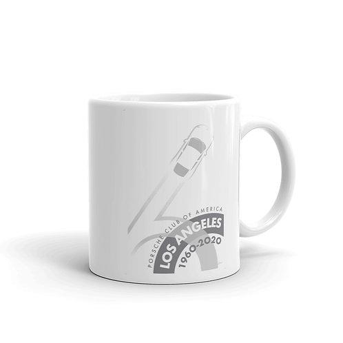 Porsche Club LA 60th Anniv. Limited Edition Mug, 2020s Edition