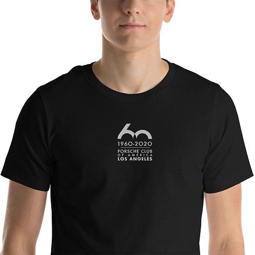 Porsche Club LA 60th Anniv. Limited Edition Short-Sleeve Unisex T-Shirt