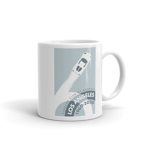 Porsche Club LA 60th Anniv. Limited Edition Mug, 2000s Edition