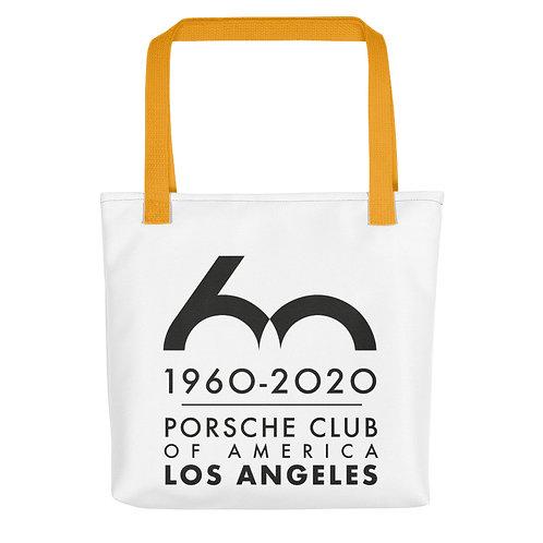 Porsche Club LA 60th Anniv. Limited Edition Tote Bag