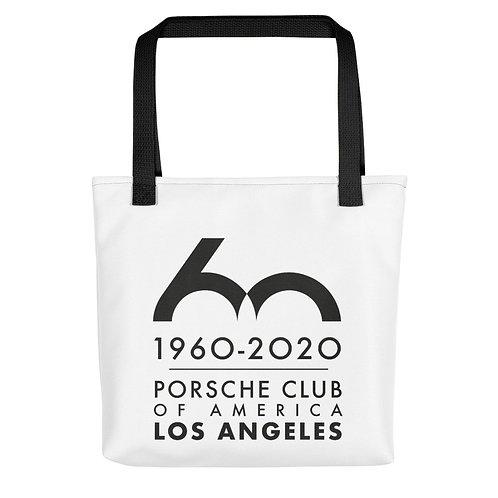 Porsche Club LA 60th Anniv. Limited Edition 60 Years Tote Bag