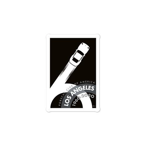 Porsche Club LA 60th Anniv. Limited Edition, 1980 Edition Decal