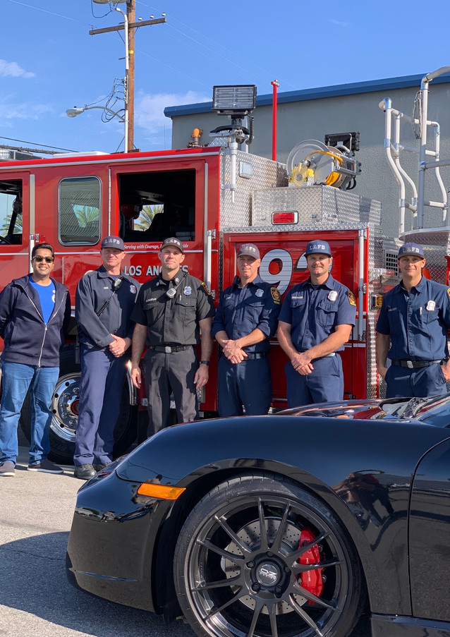 Station 92, Truck 92 — and friend
