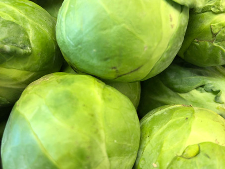 Brussel Sprouts are a great winter vegetable... try some next week!