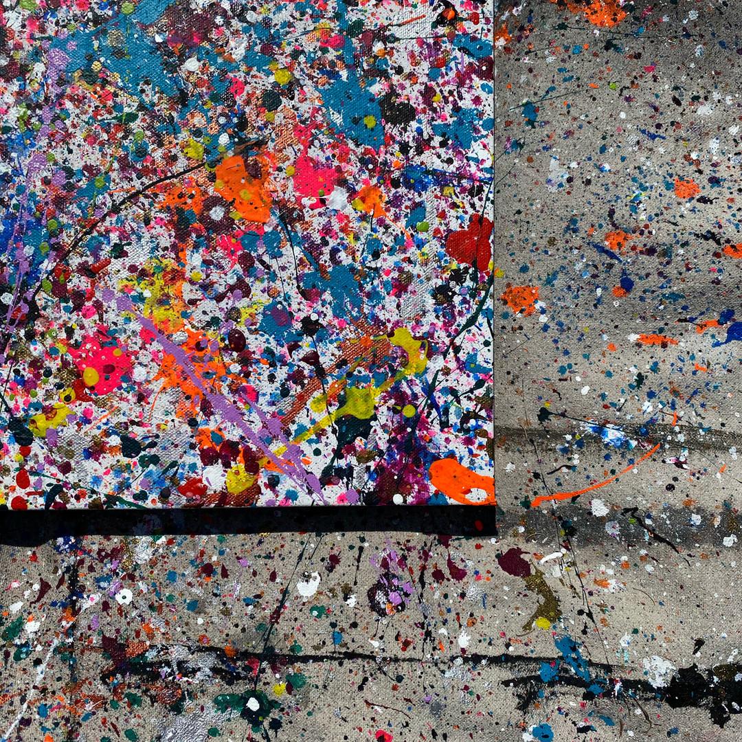 Confetti Splatter Series