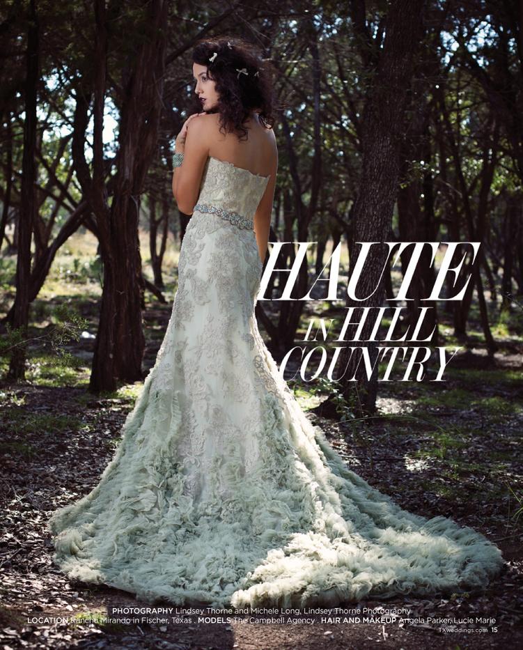Texas-Wedding-Guide Magazine Feature