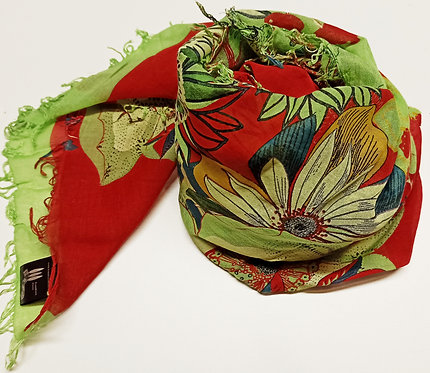 Foulard in Bamboo Flowers disponibile in tre varianti
