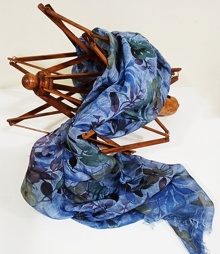 Foulard in Bamboo art. Autumn Fantasy