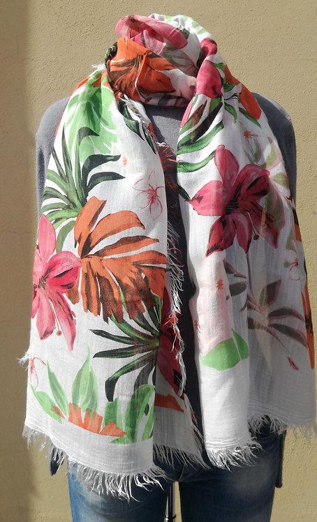 Bamboo Hawaiian flowers