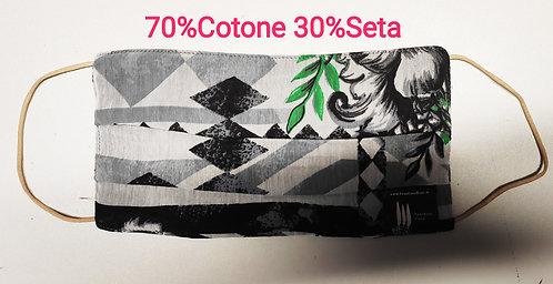Cover copri Mascherina Cotone Seta