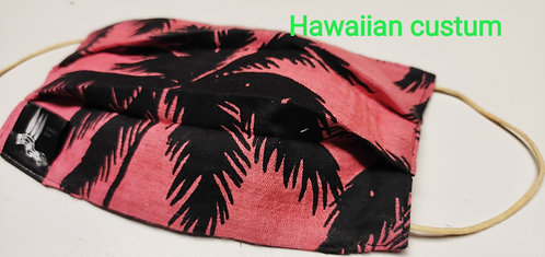 Cover copri mascherina Hawaiian Custum