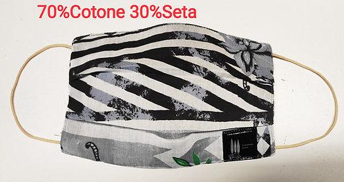 Cover Mascherina cotone seta