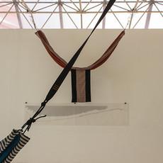 Tetê Barachini. Meio Caminho (2019). Work in progress | Instalação. Foto: Dani Amorim