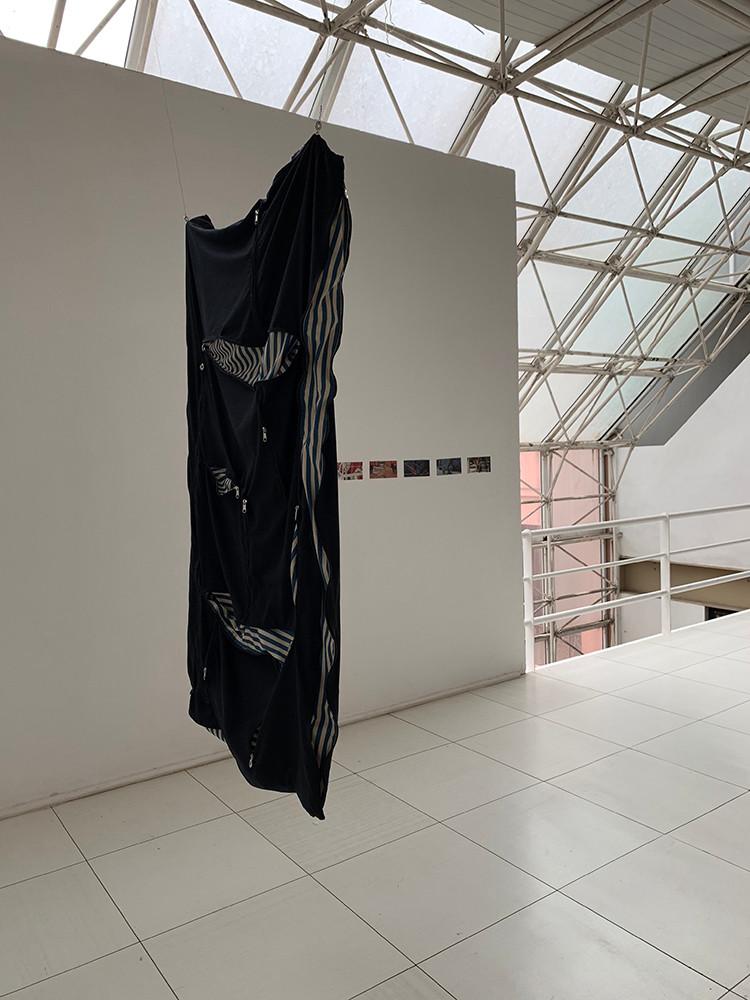 Tetê Barachini. Meio Caminho (2019). Work in progress | Instalação. Foto:  TB