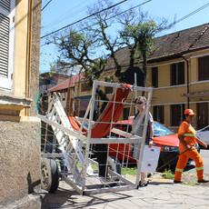 Tetê Barachini. Meio Caminho (2019). Work in progress | Ação no 4º Distrito. Foto: Dani Amorim