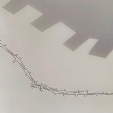 Tetê Barachini. Meio Caminho (2019). Work in progress | Instalação | Detalhe do mapa. Foto: TB