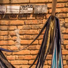 Tetê barachini. PARALELO SITIADO (2017). Instalação. Sala Negra-IAB-Porto Alegre-Brasil Foto: Filipe Conde