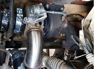 Turbo Exhaust Addition