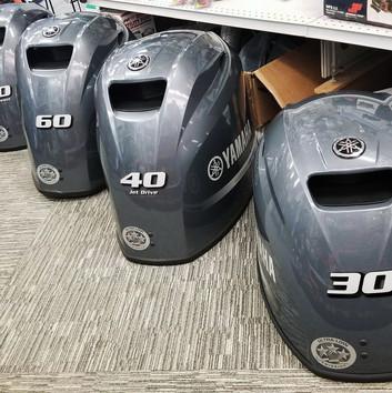 Sold Yamahas