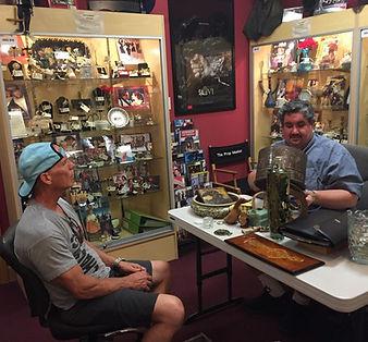 Rudd Rudluff Appraising at the Pasadena Antique Mall Appraisal Faire