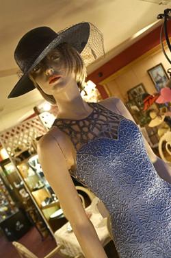 Vintage Dress and Hat