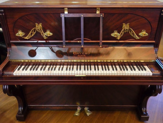 【《ピアノを聴く動画》使用ピアノ紹介】第35回ガヴォー アップライト
