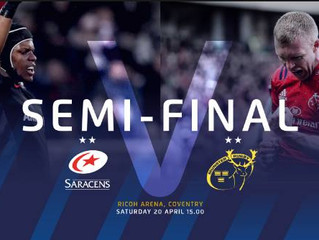 SSAway at the Champions Cup Semi Final