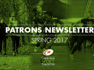 Patrons newsletter