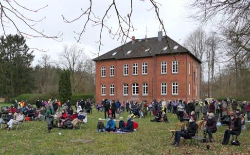 Oster-Gottesdienst im Freien und ökumenisch
