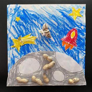 宇宙に行ってみたい、宇宙ナッツ