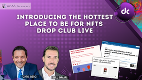 INTRODUCING THE HOTTEST PLACE TO BE FOR NFTS DROP CLUB LIVE
