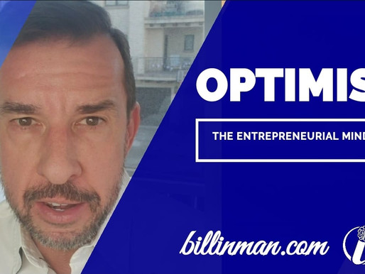 Optimism - The Entrepreneurial Mindset