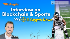 Interview on Blockchain & Sports with E- Crypto News