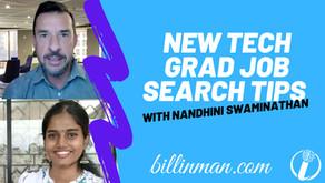 New Tech Grad Job Search Tips
