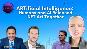 ARTificial Intelligence : Humans and AI Released NFT Art Together