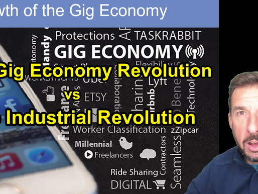 The Gig Revolution vs The Industrial Revolution