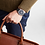 Thumbnail: MONDAINE Simply Elegant, 41 mm, black leather watch