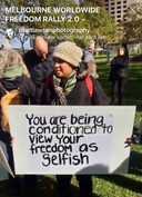 Conditioned to view your freedom as selfish