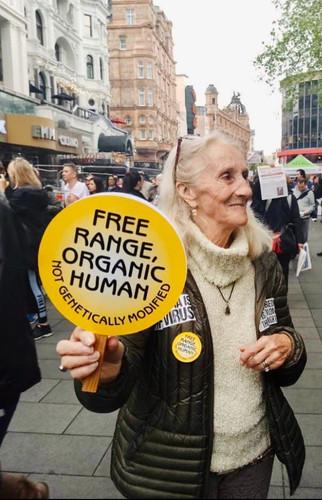 Free Range Organic Human