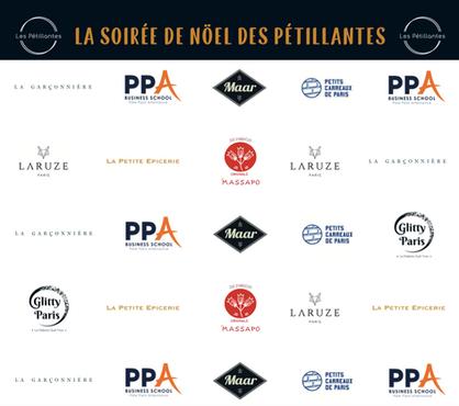 Photocall Les Pétillantes