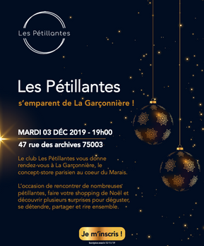 Invitation Les Pétillantes