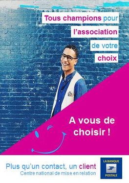 Affiche 2 La Banque Postale