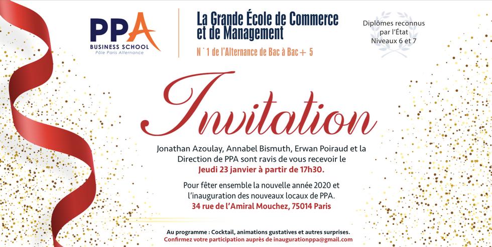 Invitation PPA