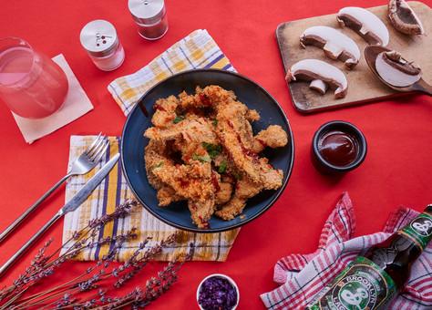 Tender de portobello_Gold Fried Kitchen.