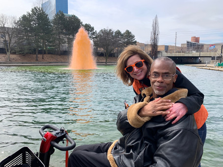 Turn the Canal Orange for MS Awareness