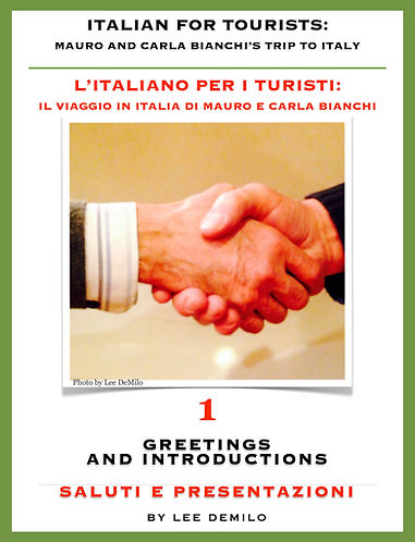 Lesson/Lezione 1 Greetings and Introductions | Saluti e Presentazioni